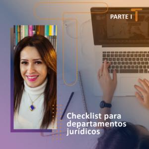 Checklist para departamentos jurídicos - Turivius